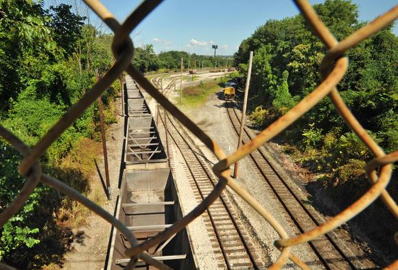 Morrell Park CSX tracks