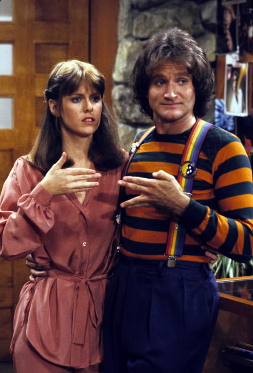 robin williams  pam dawber on pbs special