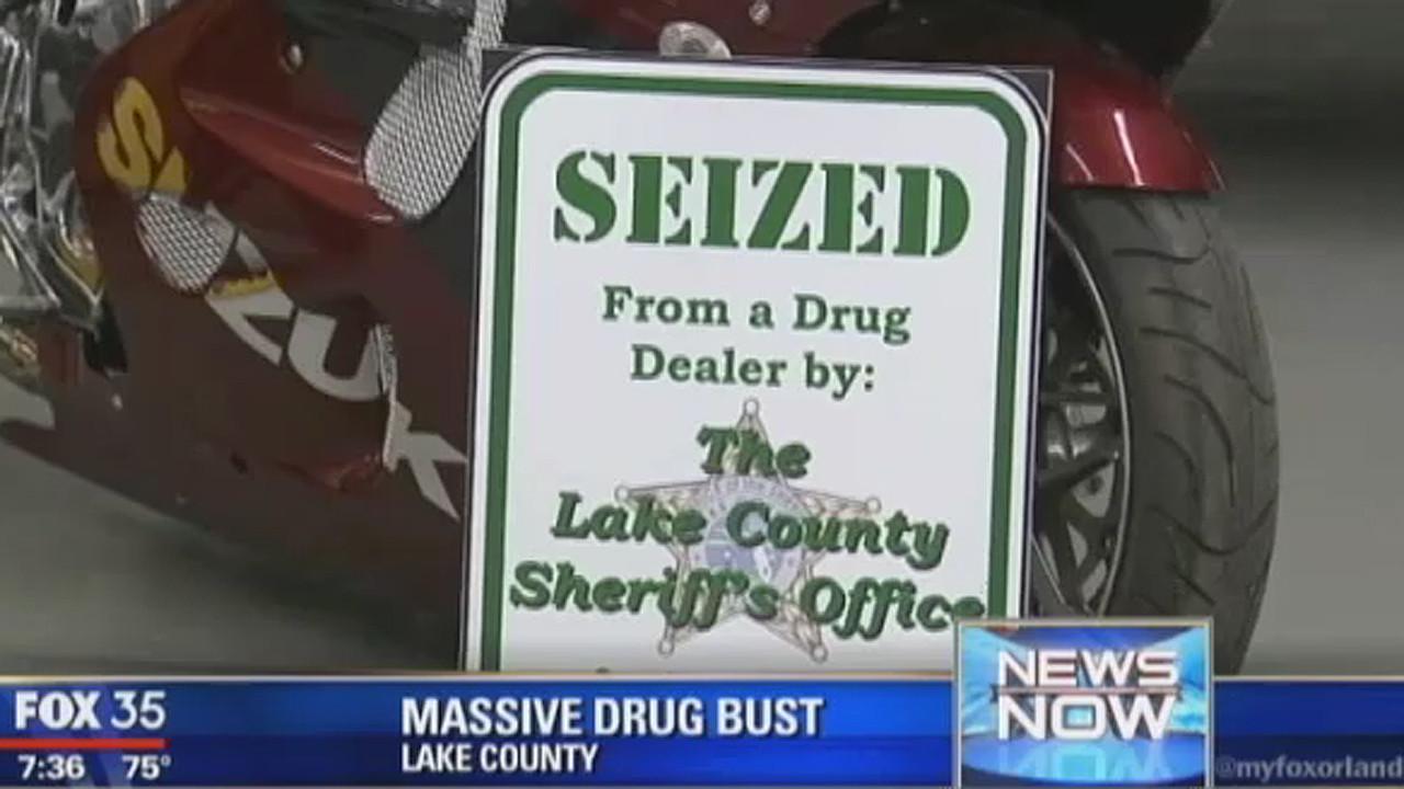Massive drug bust in Lake County - Orlando Sentinel