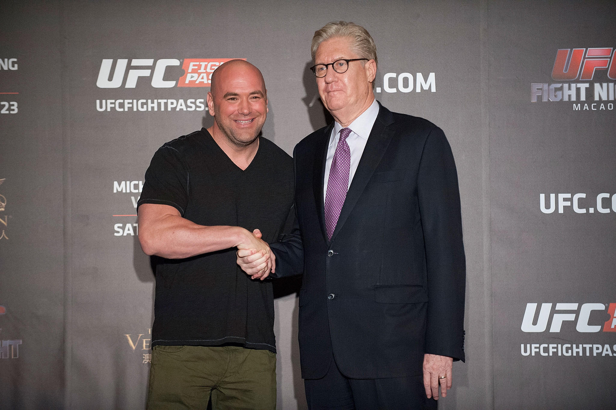 two mma events at casinos on same night dana white unfazed