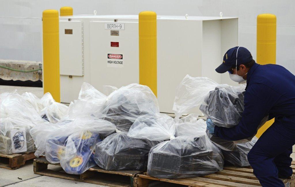 Coast Guard seizes cocaine