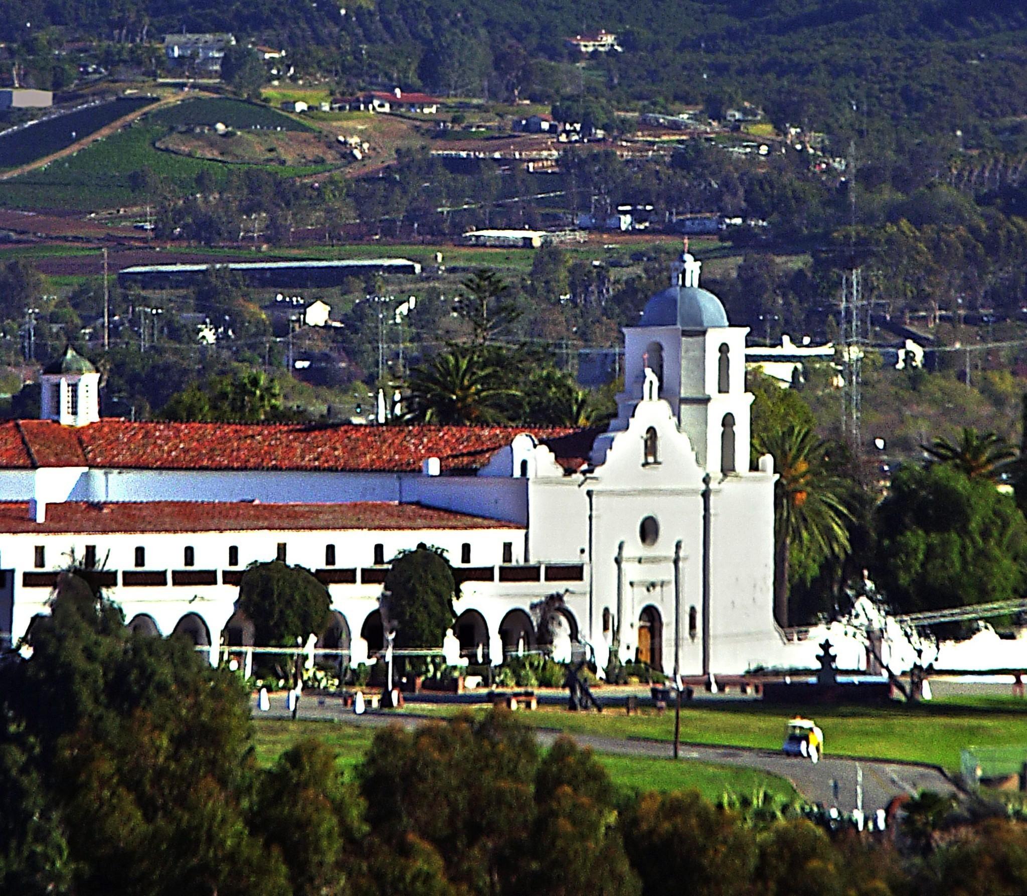 California Missions Spotlight At Mission San Luis Rey