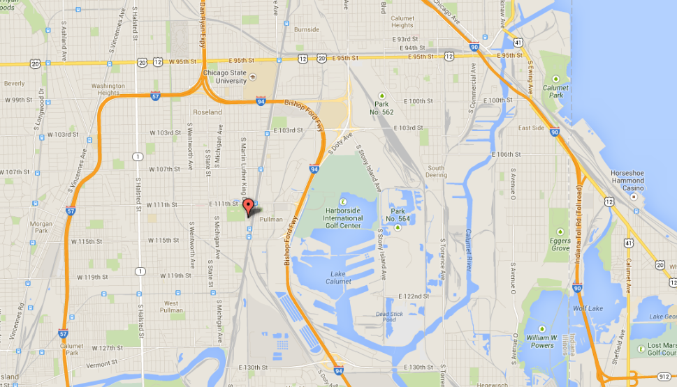Map: Fatal fire in Roseland neighborhood - Chicago Tribune on