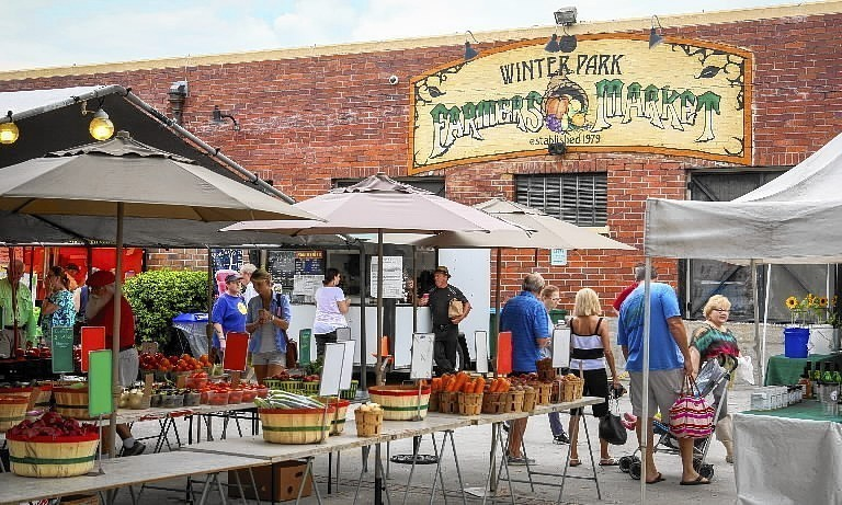 Winter Park Farmers Market Free Speech Orlando Sentinel