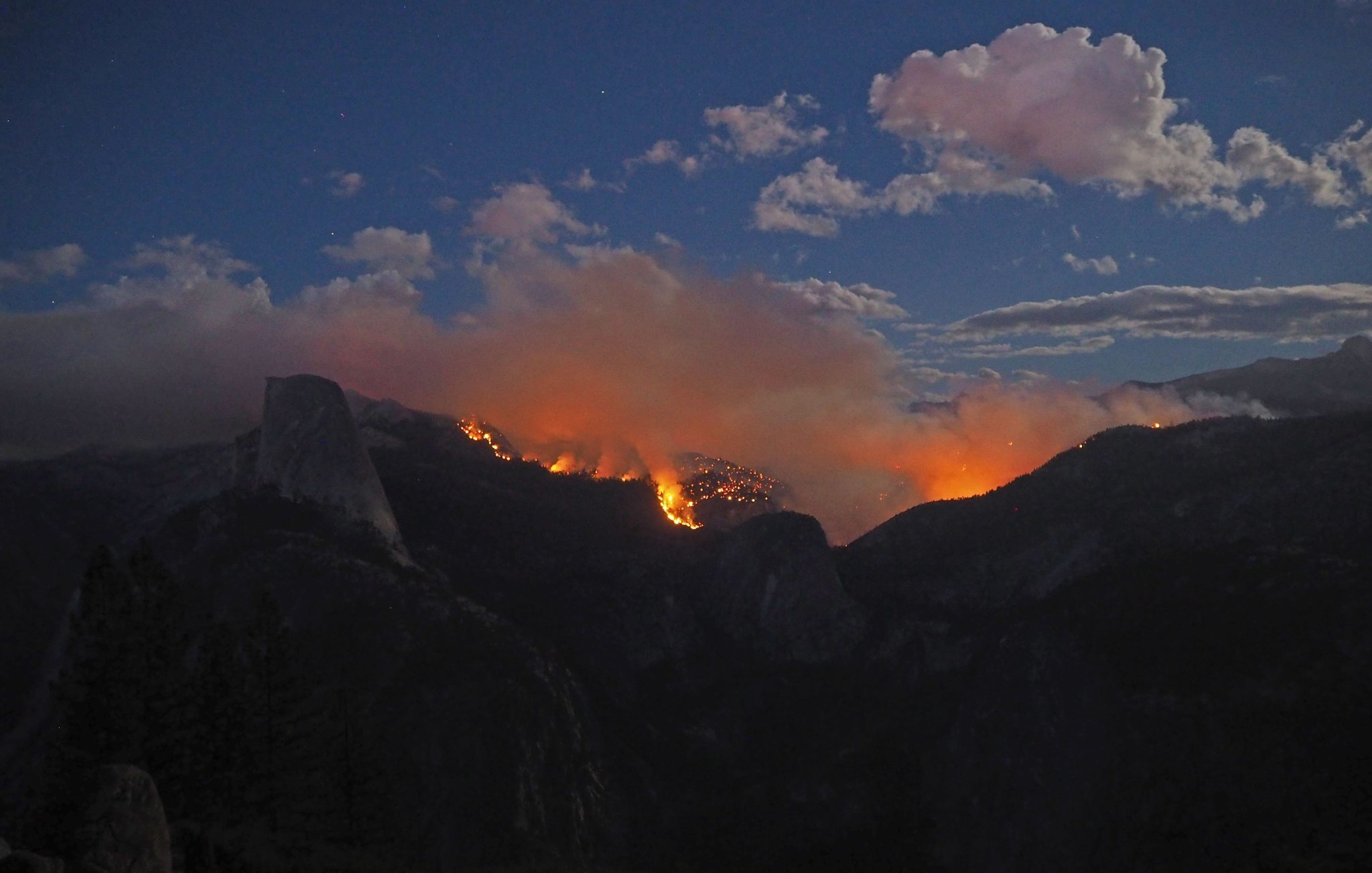 Yosemite Half Dome Cables To Reopen Saturday Fire 23