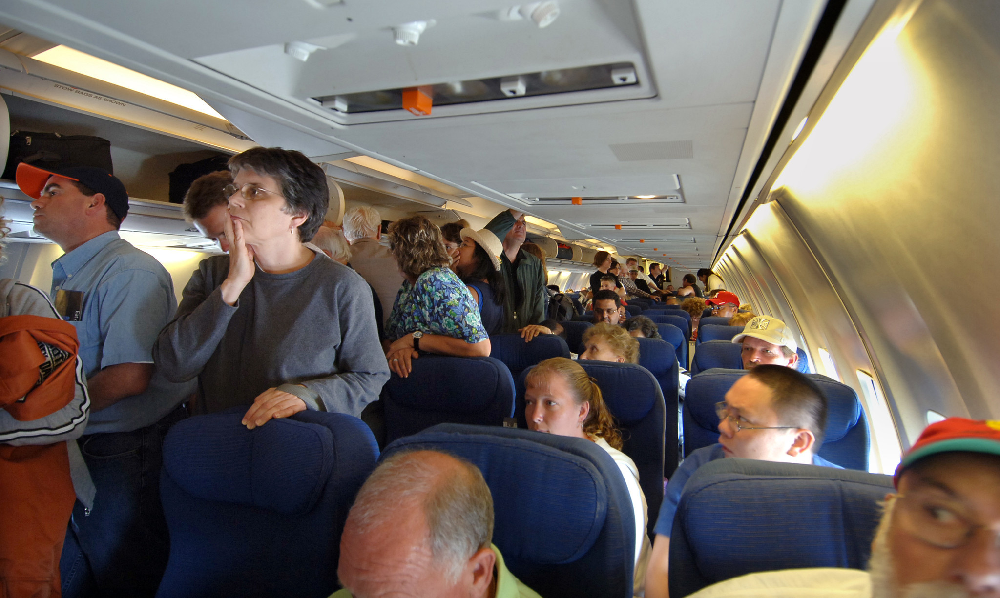 Despite Fights Over Reclining Seats Unruly Passenger