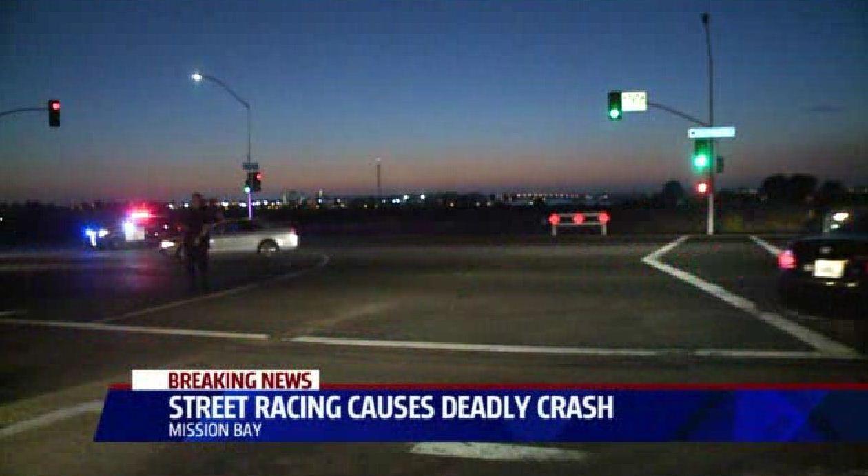 Corvette driver dies in street race with Mercedes in San