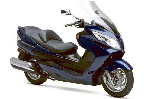 don't give it short shrift: suzuki burgman 400 scooter can tour