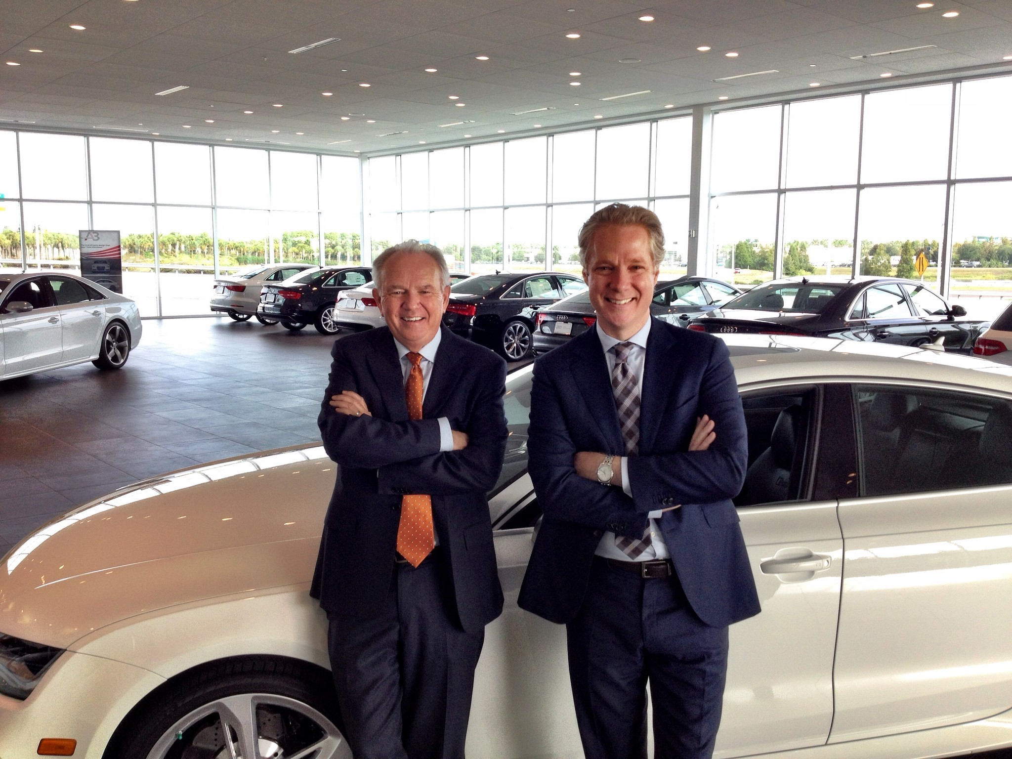 Audi AutoNation CEOs Talk About New Partnership Orlando Sentinel - Audi north orlando