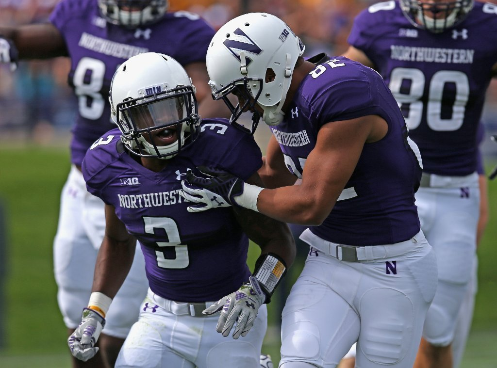 b518dccb9 Freshman tailbacks lead way for Northwestern - Chicago Tribune