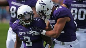 0ea6f7b61 Freshman tailbacks lead way for Northwestern