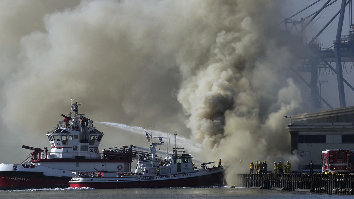 Port fire