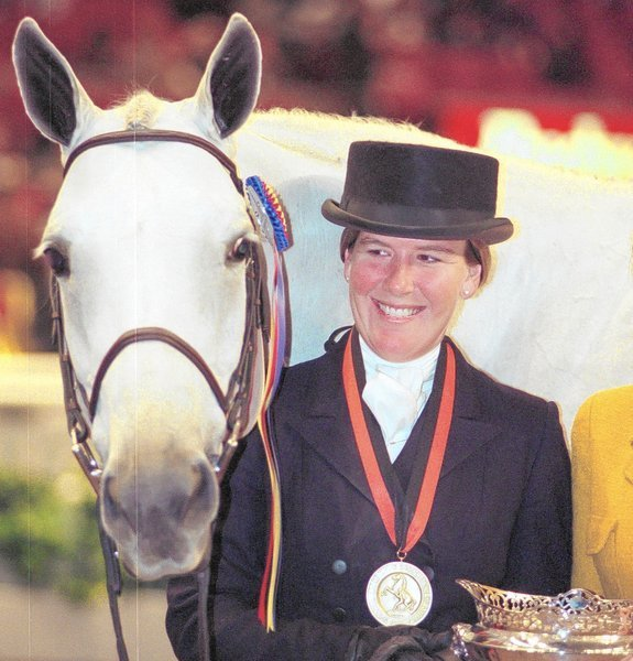 Elizabeth M Solter Accomplished Equestrian And Teacher