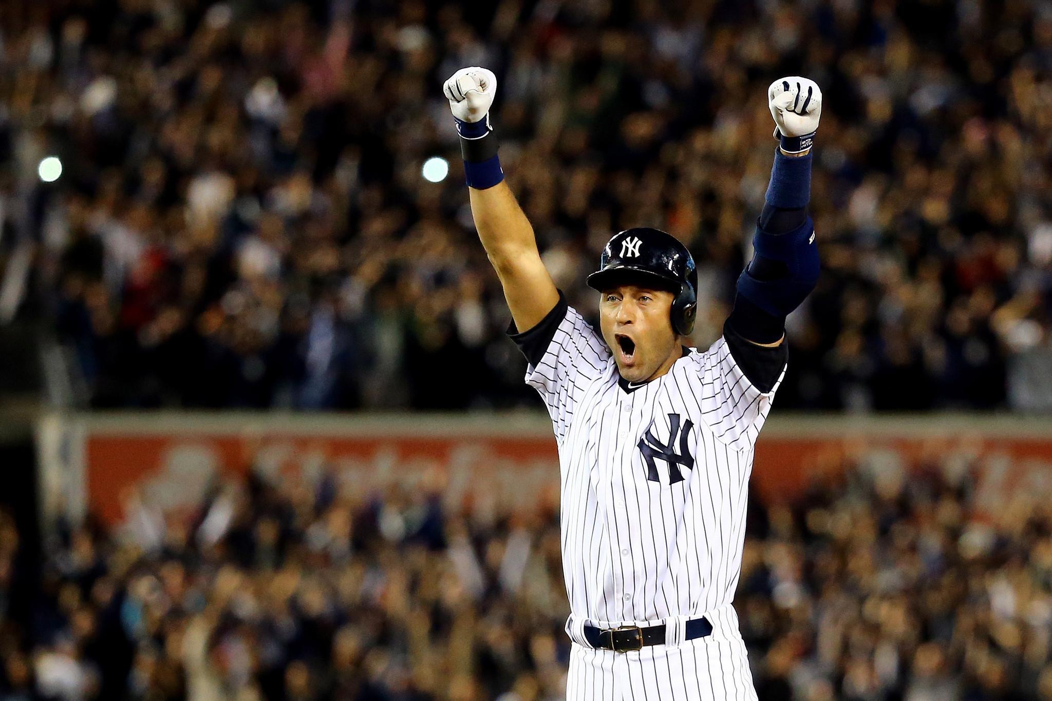 Derek Jeter's walk-off baseball in final Yankee Stadium ...