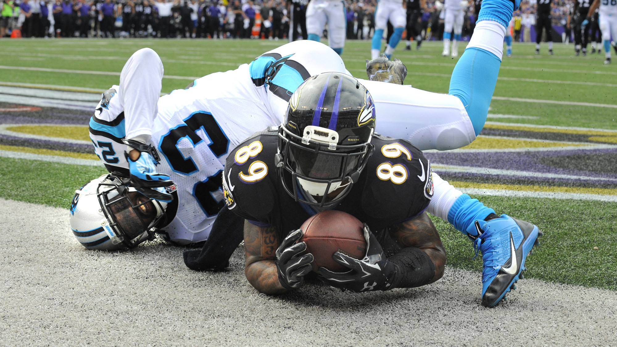 Steve Smith s big day leads Ravens to 38-10 victory over the Carolina  Panthers - Baltimore Sun b128a4d306