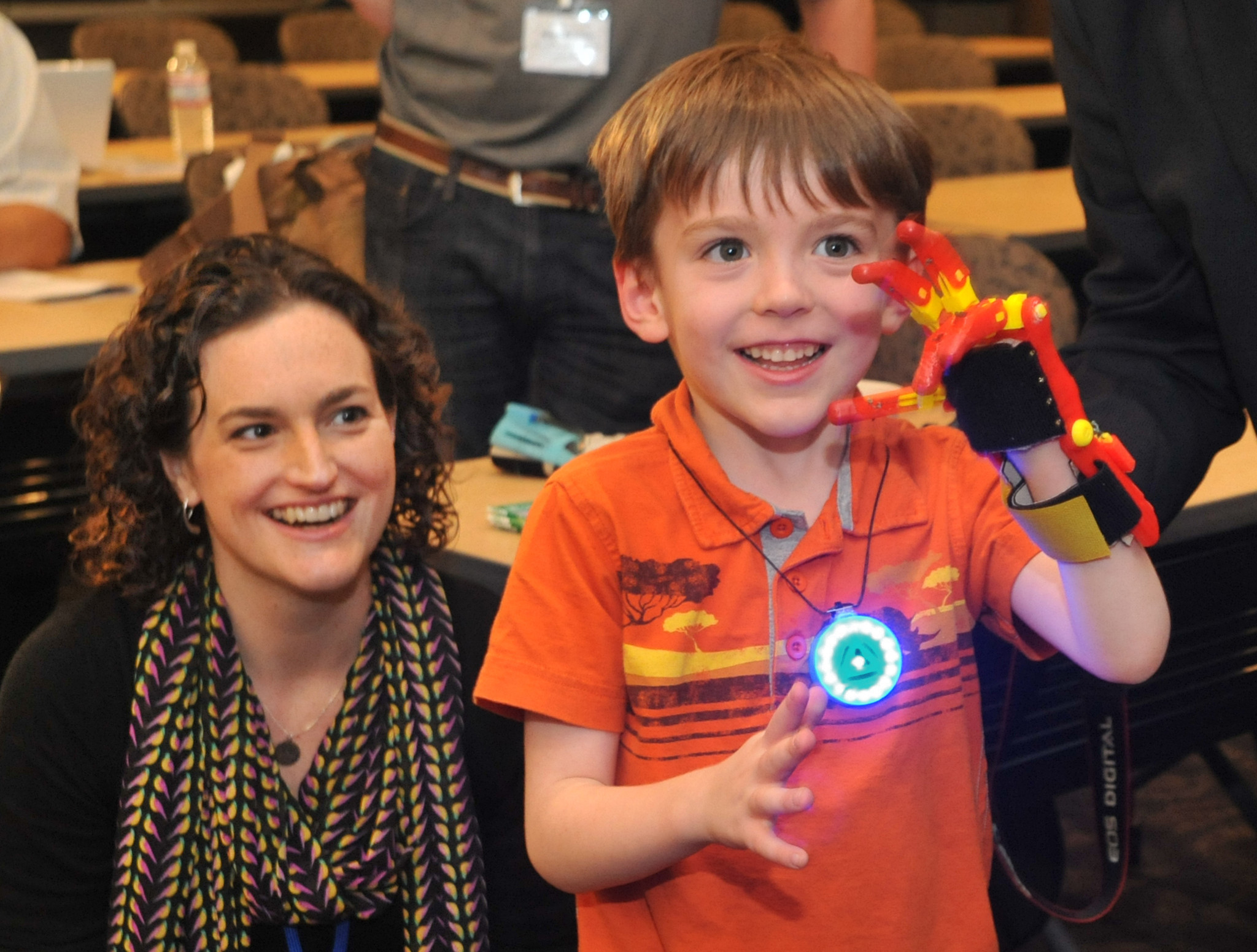 Kids Outfitted With New Hands Made On 3 D Printers