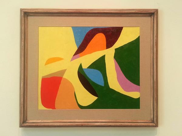 Before + after by Frederick Hammersley at L.A. Louver