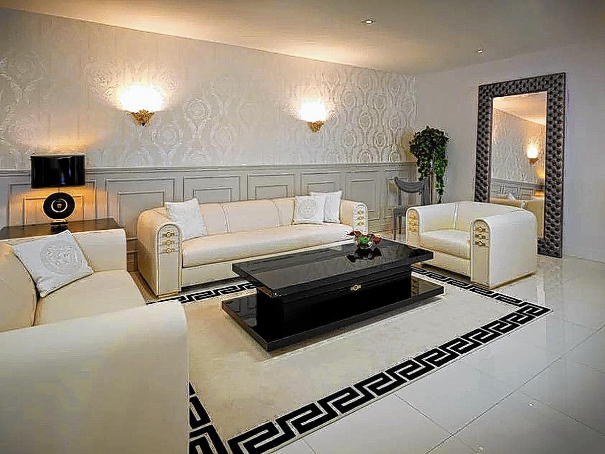 versace home abitare minotti opening at dcota. Black Bedroom Furniture Sets. Home Design Ideas