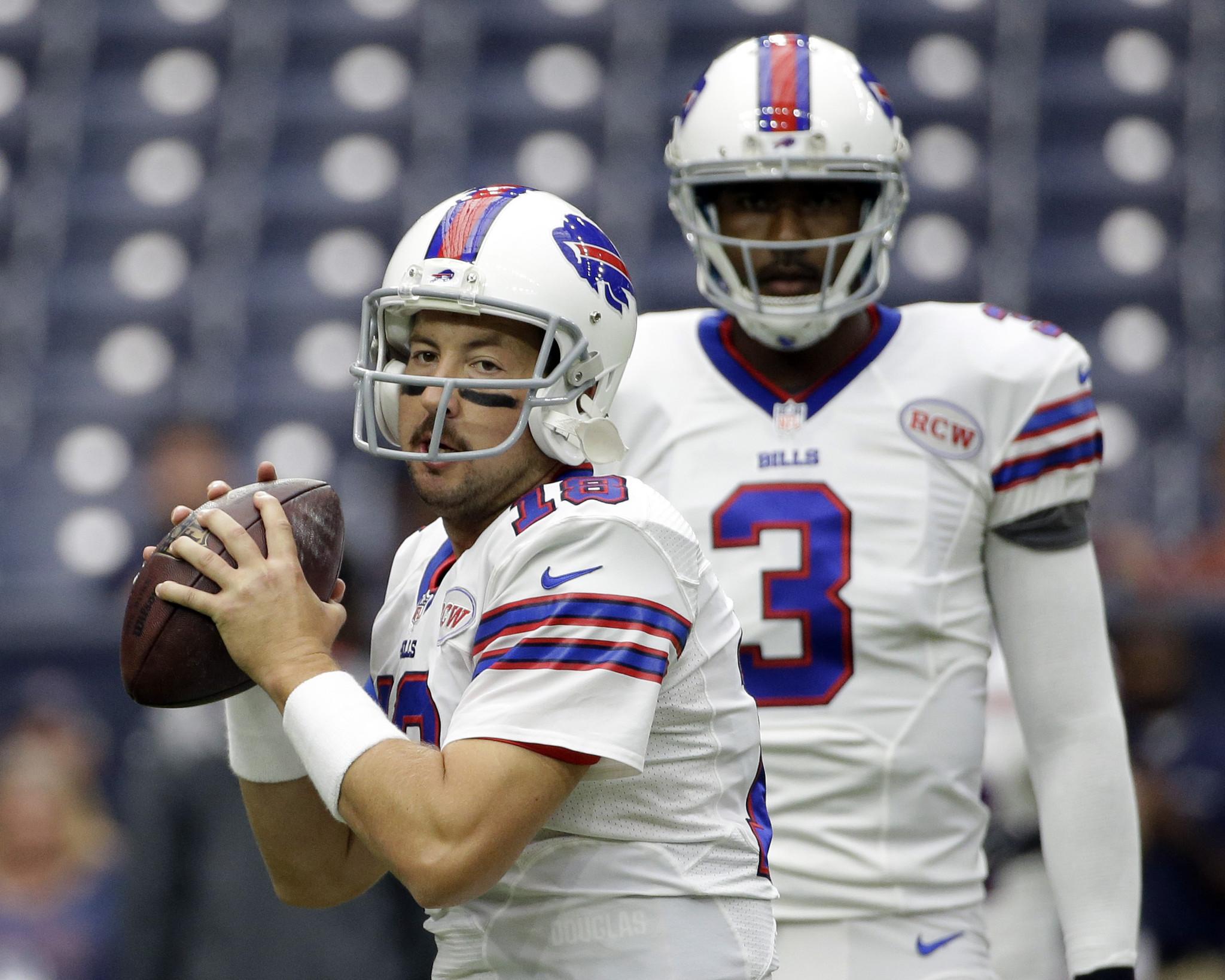 cc1e5aa0423 Kyle Orton replaces EJ Manuel as Buffalo Bills  starting quarterback ...