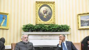 Obama, India premier reach agreements on climate change, other issues