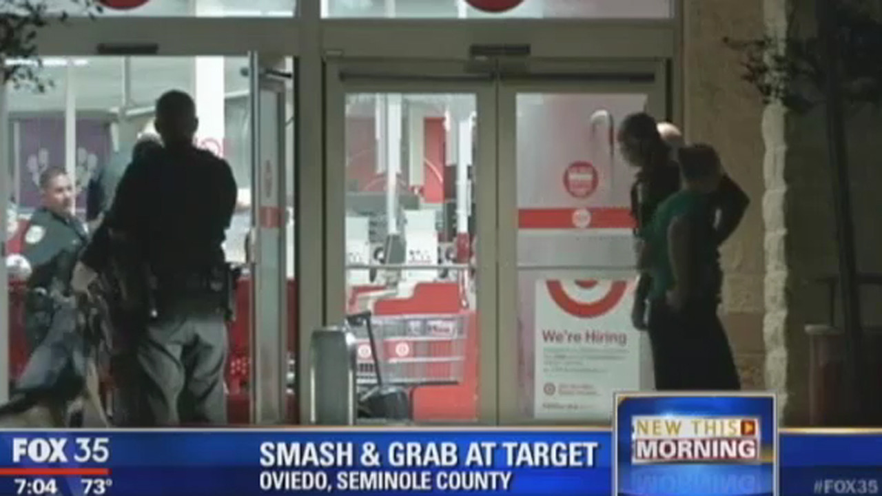 Smash and grab robbery at Target in Oviedo - Orlando Sentinel