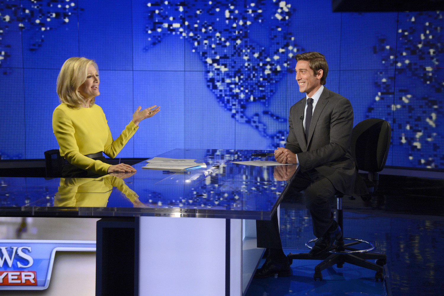 ABC News Picture: David Muir Leads 'ABC World News Tonight' To 1st Ratings