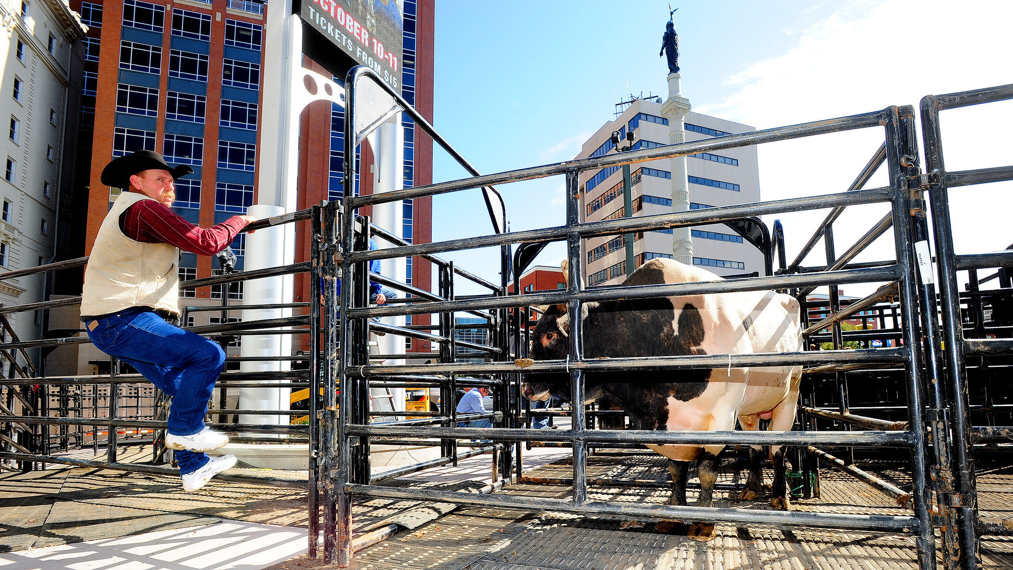 Big Valley Ford >> Bull riding comes to PPL Center in Allentown - The Morning Call