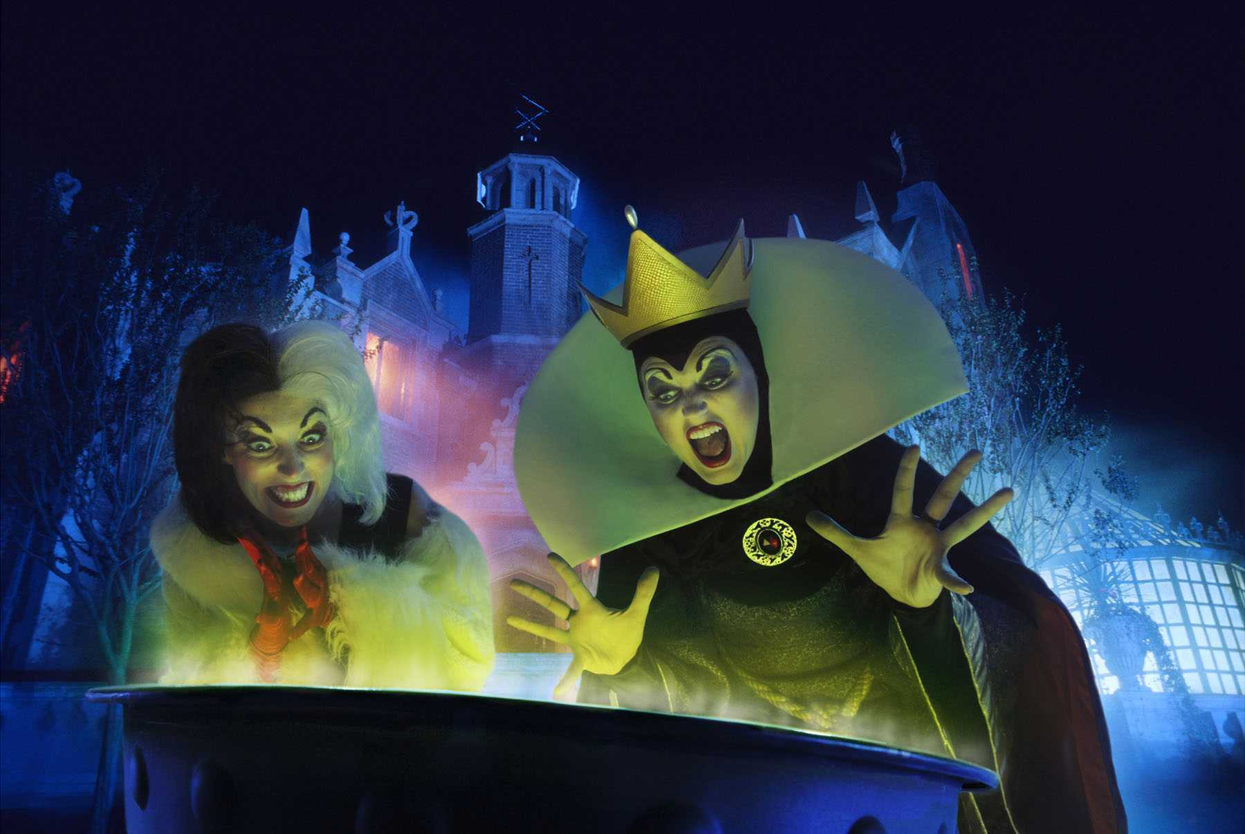 Disneys Atlantis The Villains: Disney World Halloween Party Changes
