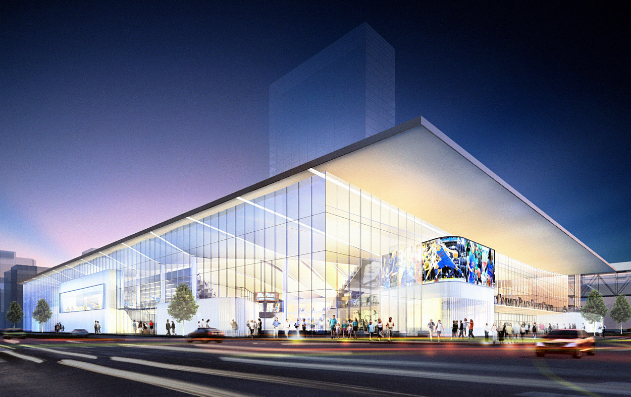 Depaul Lewis Center Floor Plan: DePaul's New Basketball Arena On Track For Winter