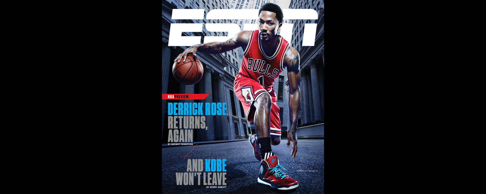 Chicago Bulls Guard Derrick Rose Gives Espn Magazine Surprising