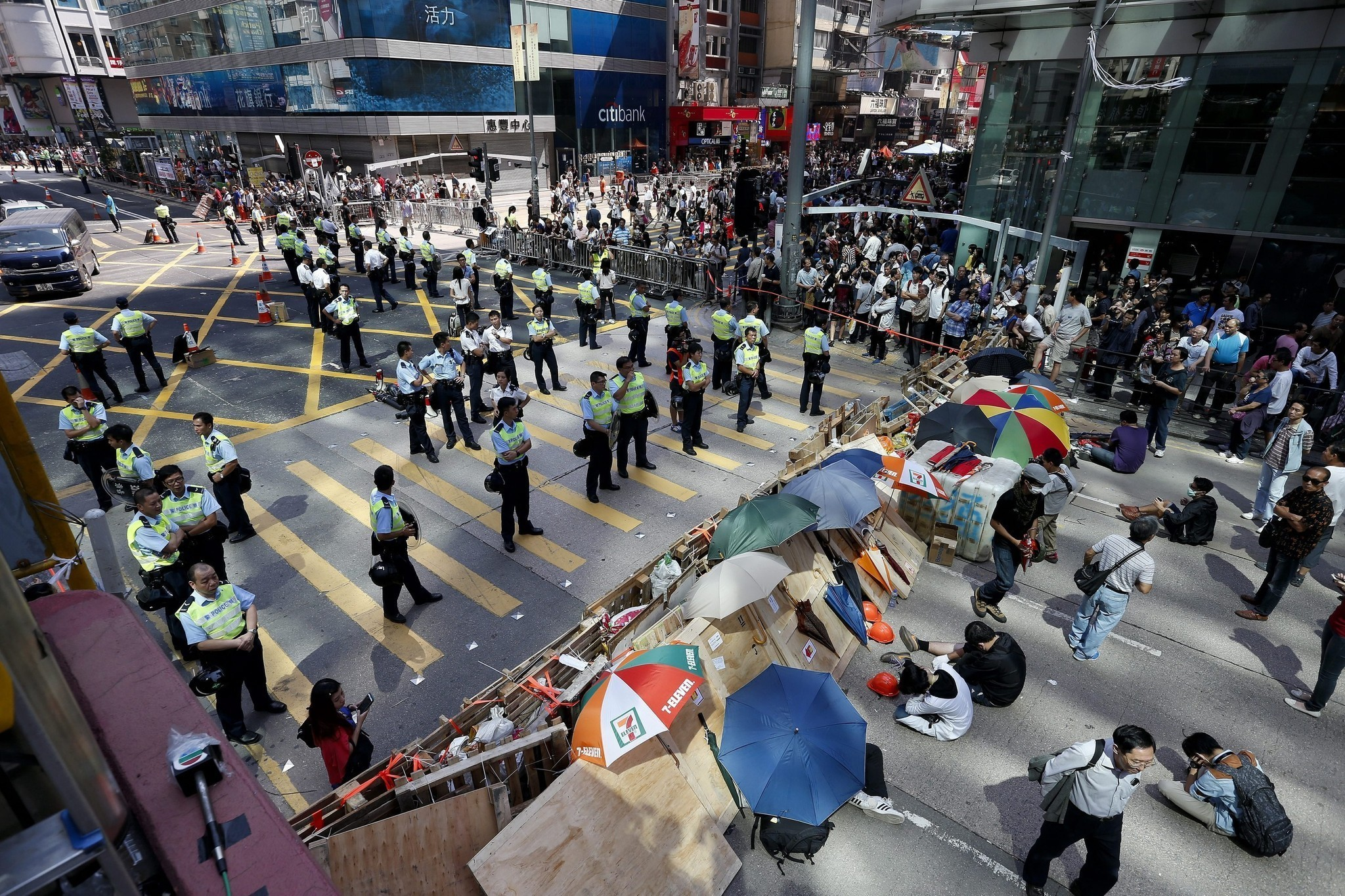 Both Sides In Hong Kong Warn Of Crisis As Clashes Continue