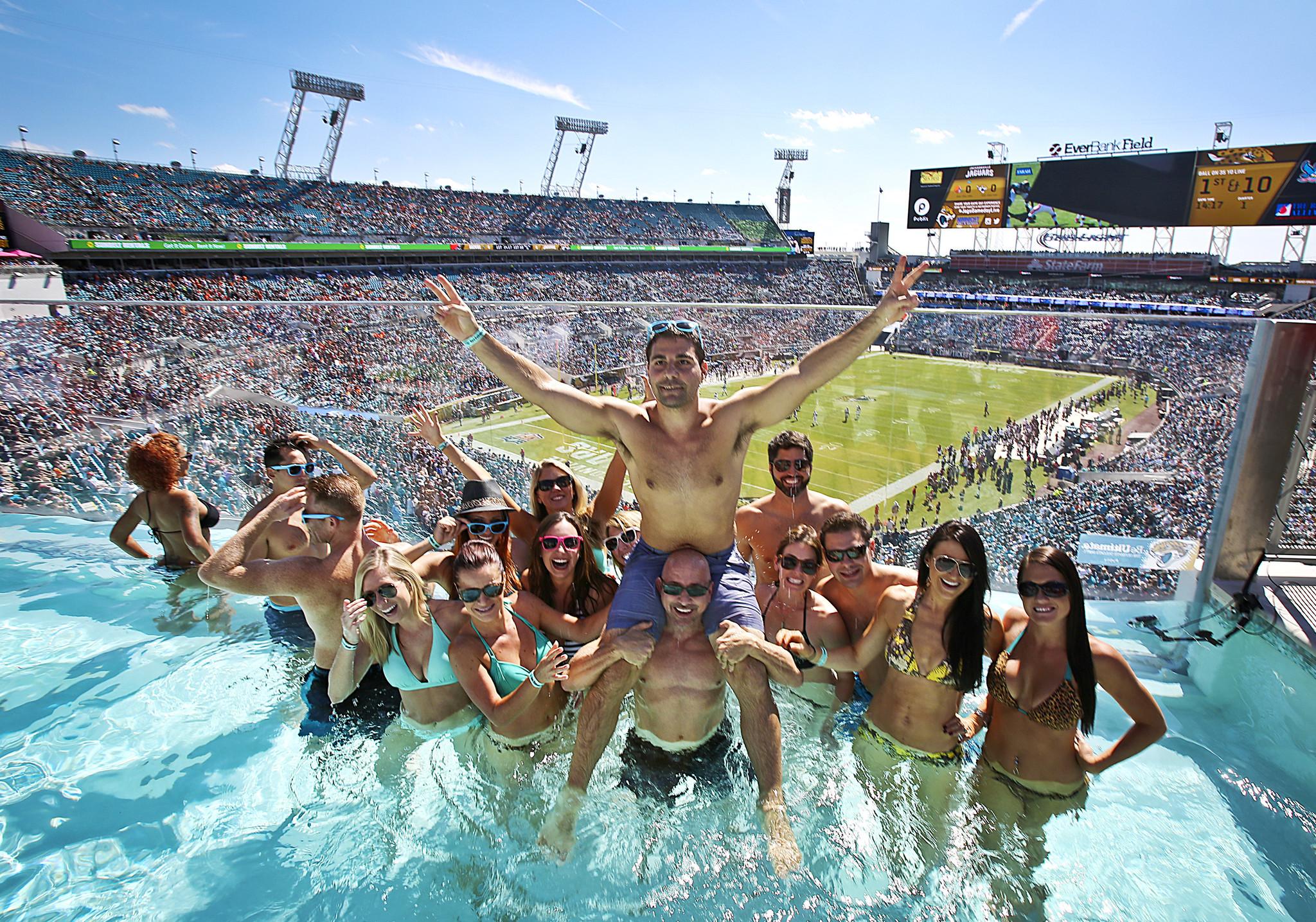 Jacksonville Jaguars Pool Party Orlando Sentinel