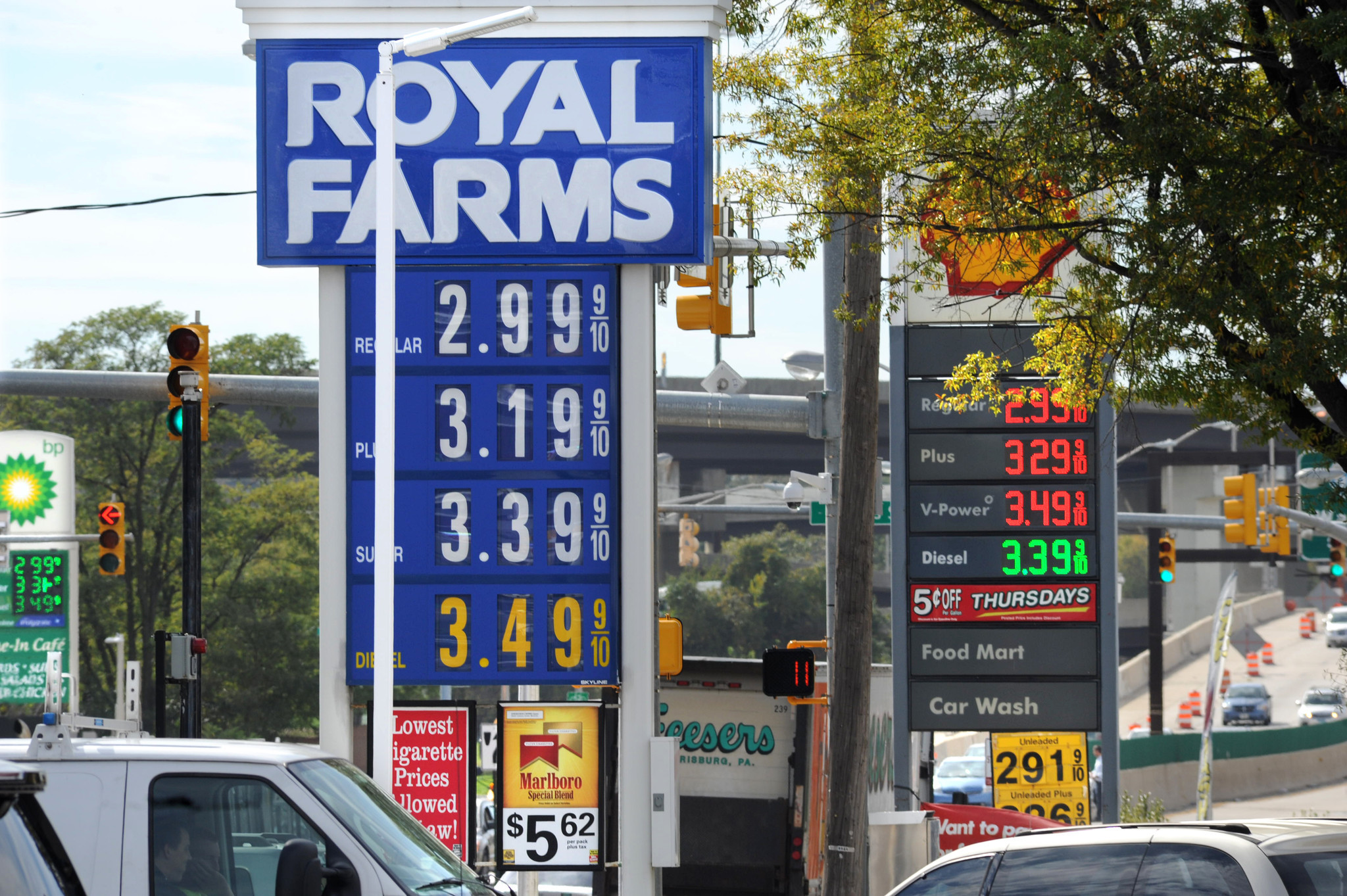 Marylanders Welcome Gas Prices Below 3 A Gallon
