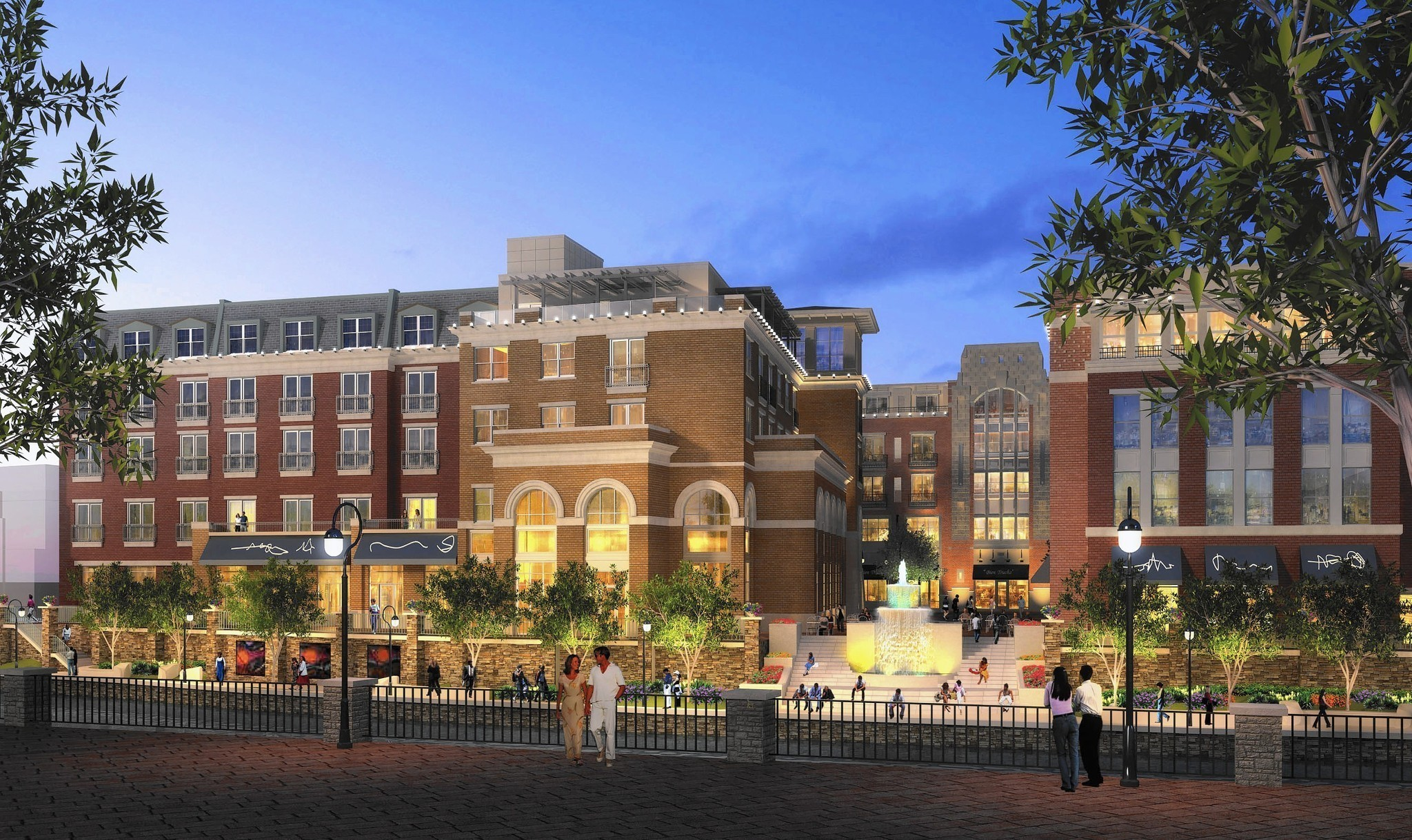 What Restaurants Are In The New Hotel In Downtown Naperville