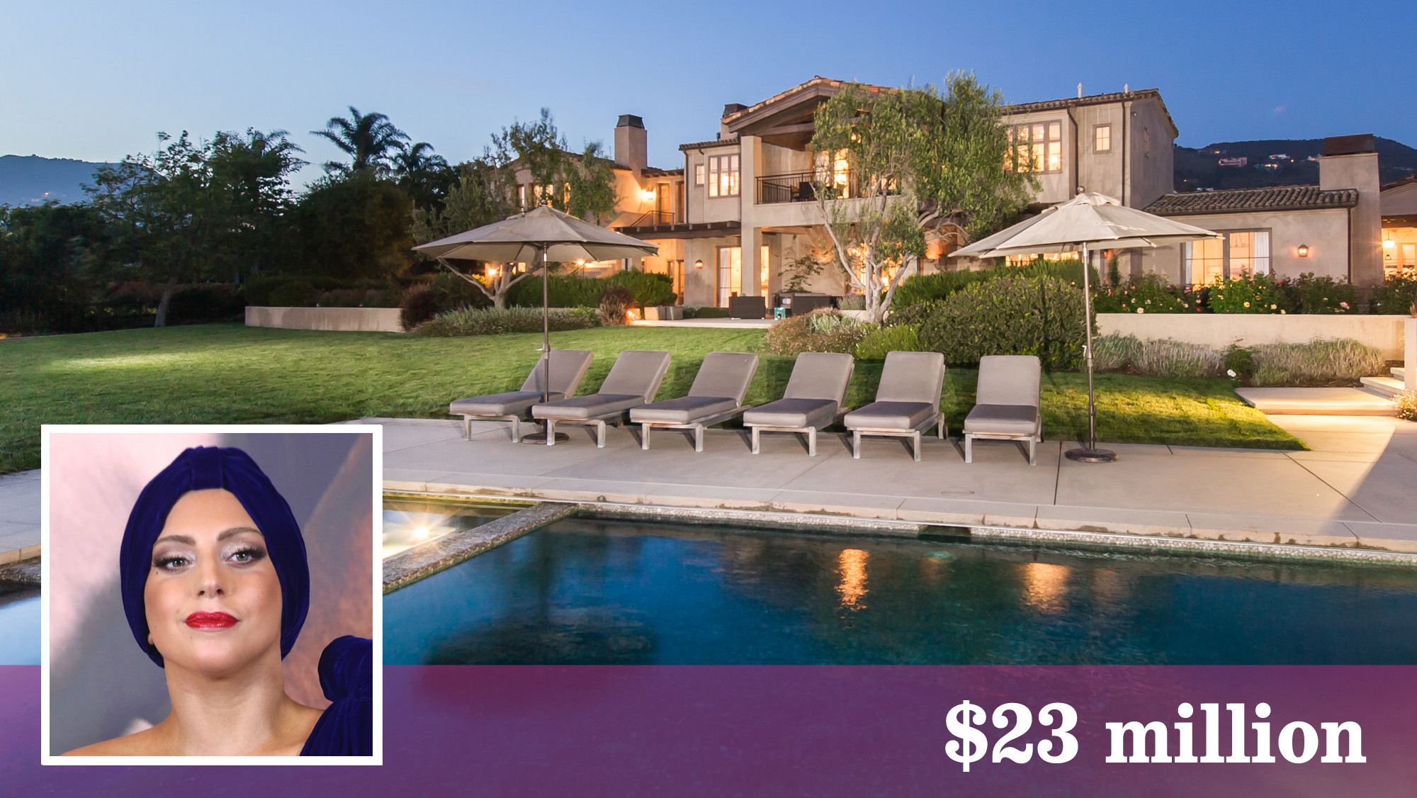 Lady Gaga Buys 23 Million Malibu Estate With Stables
