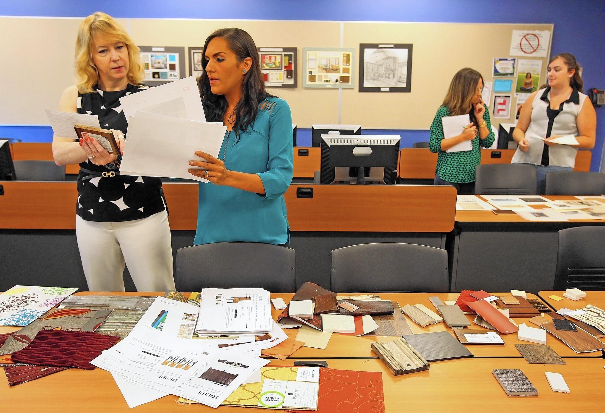 Autism interior design course at Seminole State aims to open doors - Orlando Sentinel
