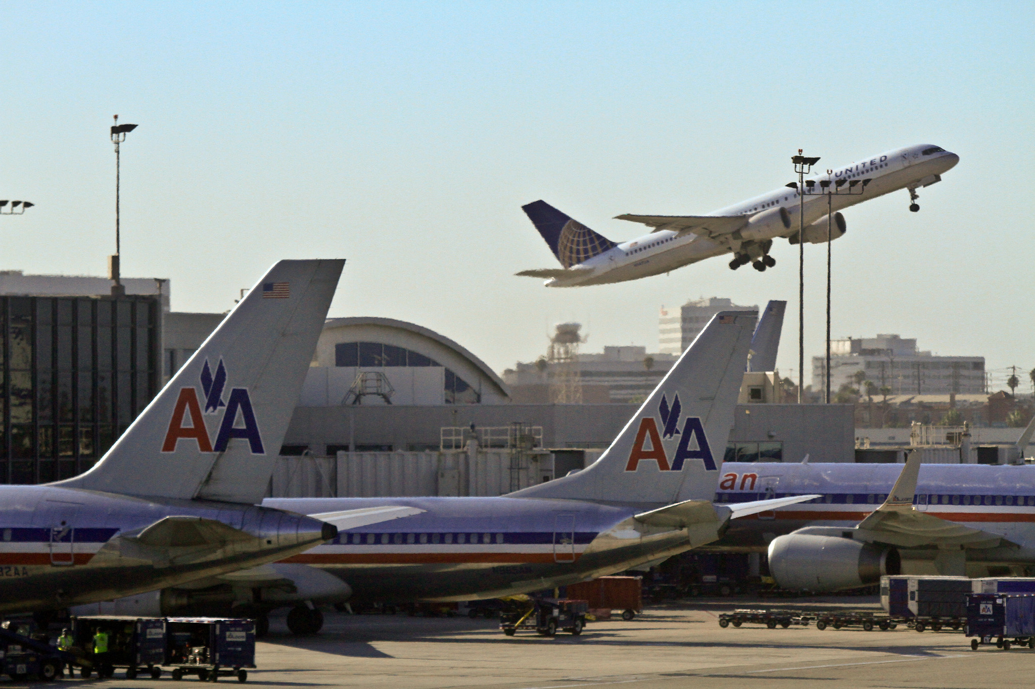 American Cancels Lax Flight After Wifi With Terror Group