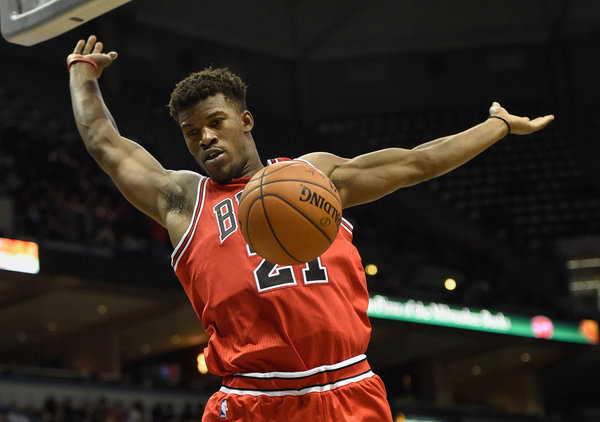 It s unclear when Jimmy Butler will be back. Season opener  Bulls ... e55d1c01f