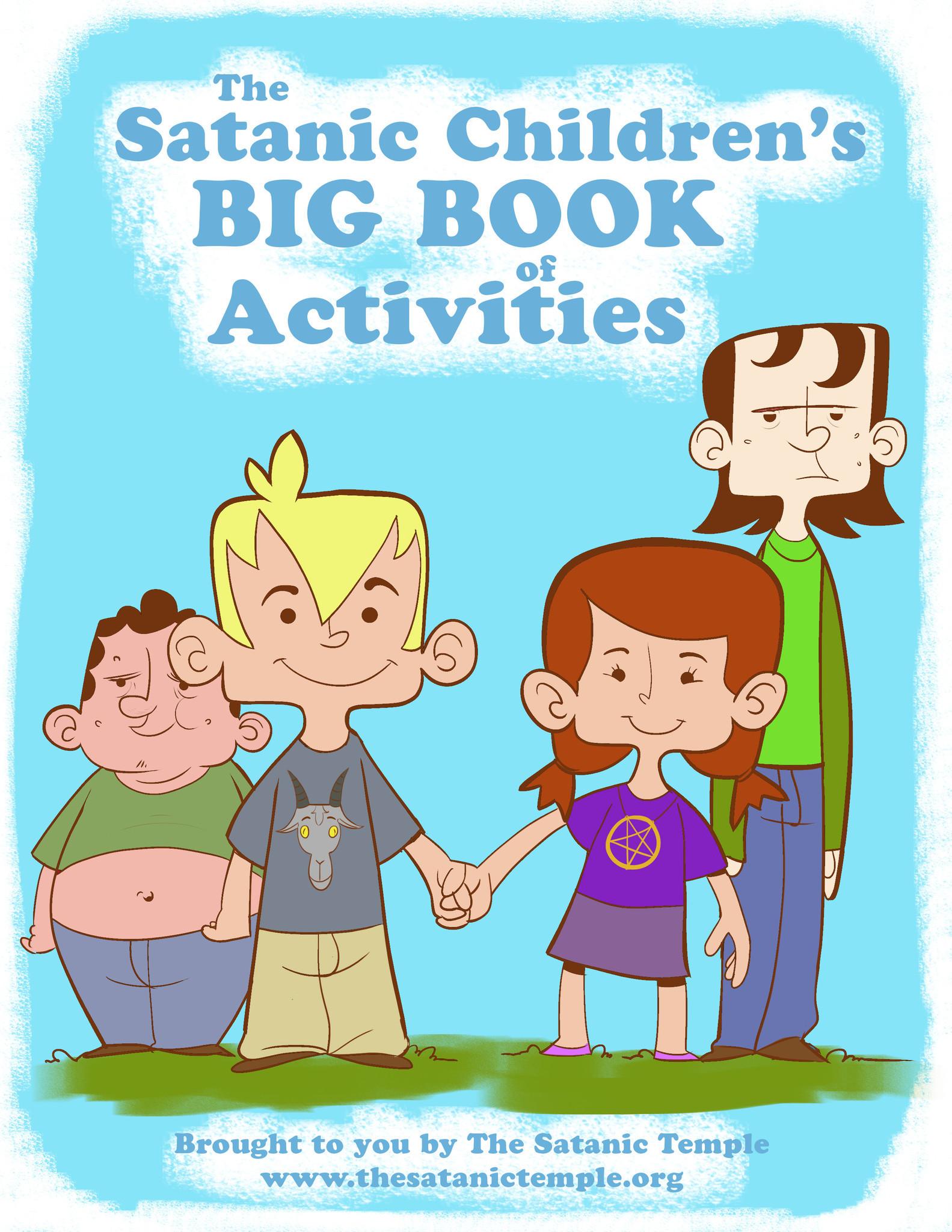 satanic temple submits coloring book to orange schools orlando