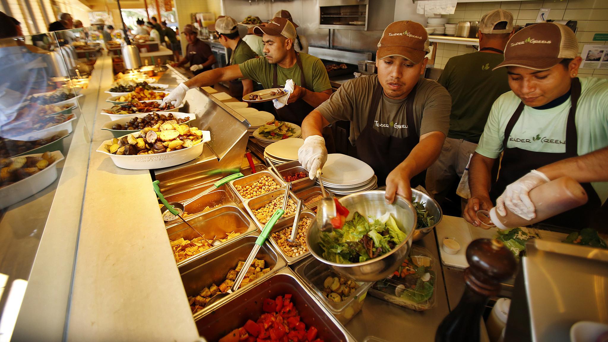 Healthy Fast Food Chains California