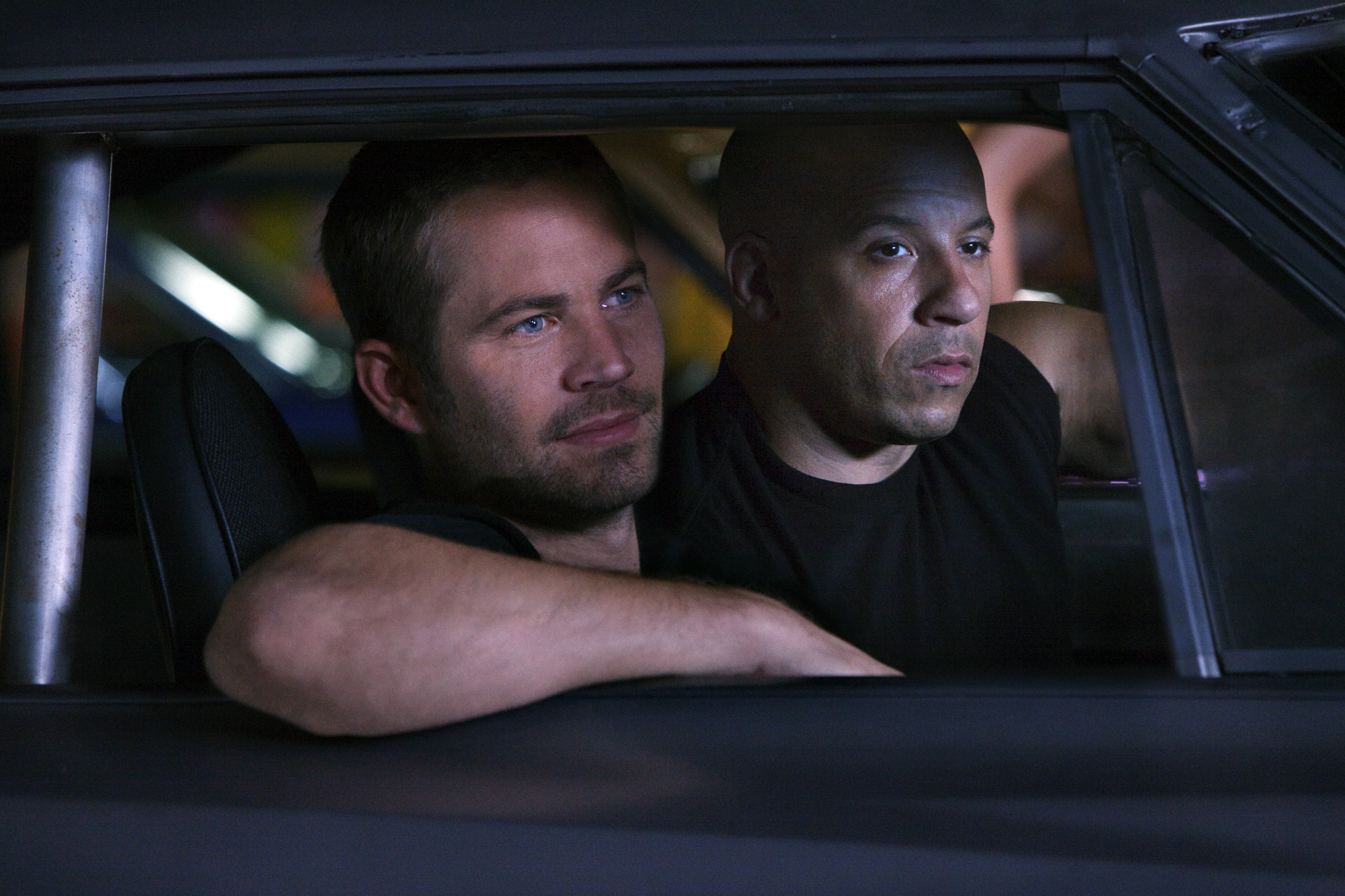 39 furious 7 39 trailer paul walker offers a poignant screen farewell la times. Black Bedroom Furniture Sets. Home Design Ideas