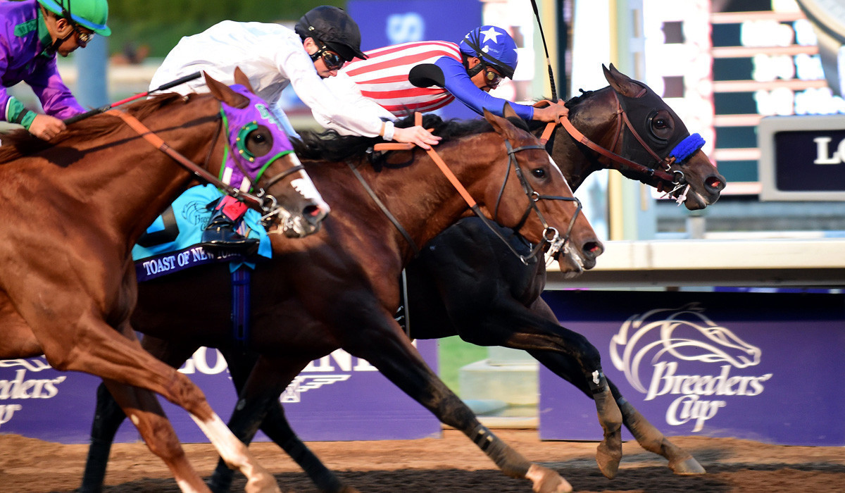 Breeders Cup Day 2 Bayern Wins Classic In Close