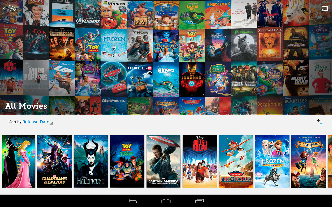 Disney's Movies Anywhere service comes to Google Play - LA ...