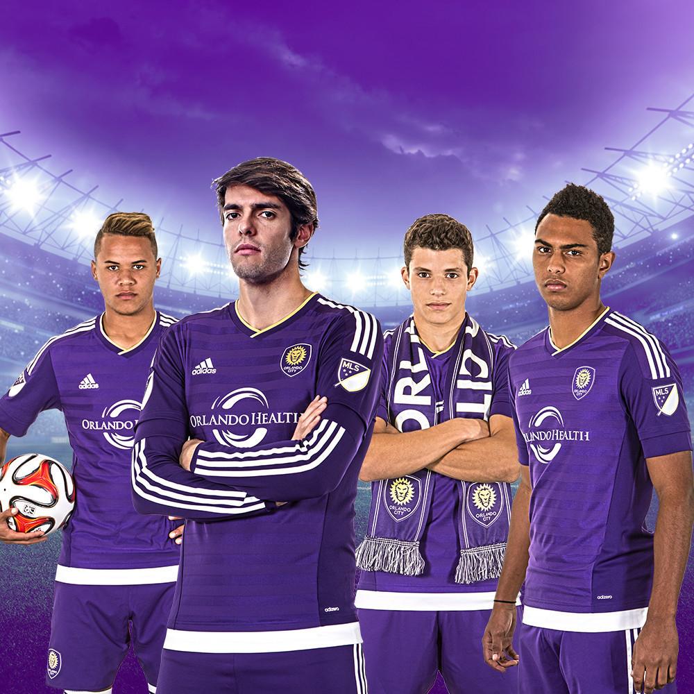huge selection of 7e9e4 54057 Orlando City unveils new MLS uniforms - Orlando Sentinel