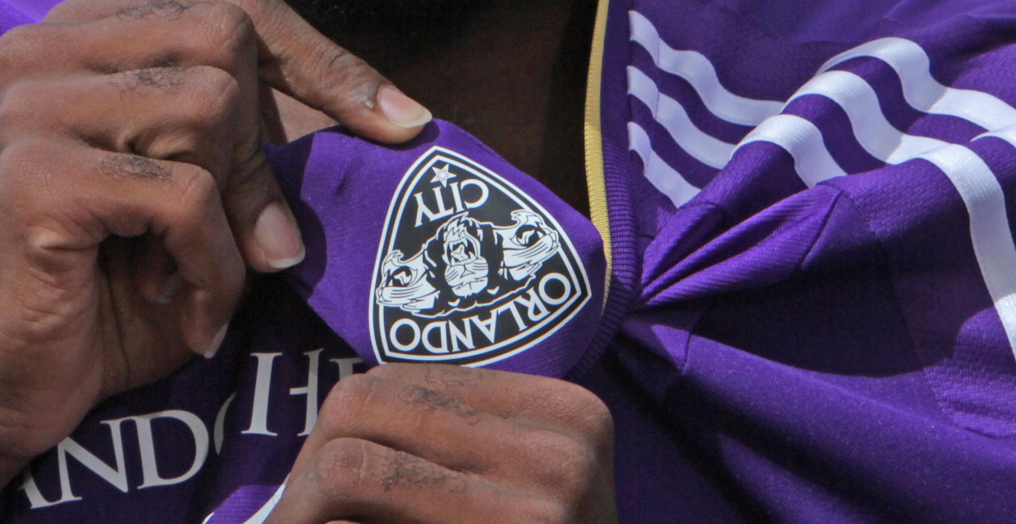 new products f0146 6b05e Orlando City Soccer unveils new MLS jerseys - Orlando Sentinel