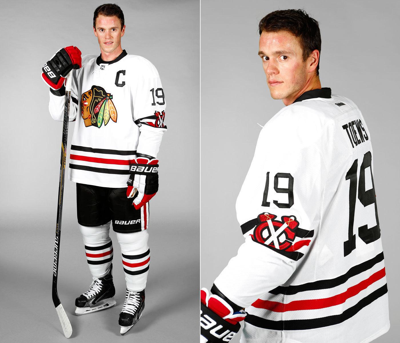 Blackhawks  Winter Classic sweater revealed - Chicago Tribune c91cae1ba