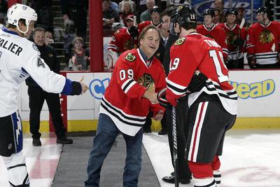 Celebs love the Blackhawks - RedEye Chicago 334b2c151e4