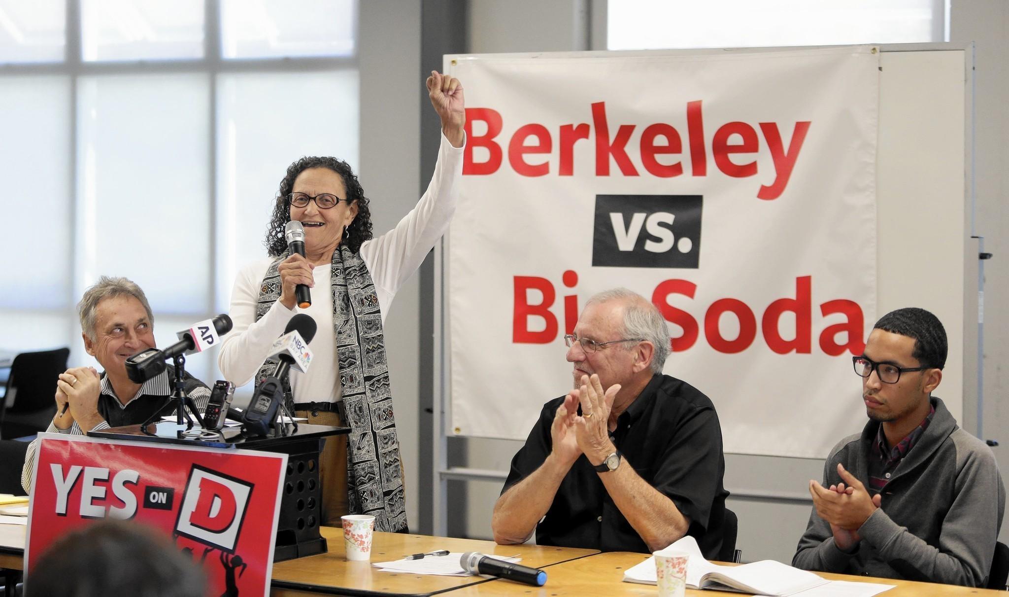 Berkeley's soda tax a sweet victory - Los Angeles Times