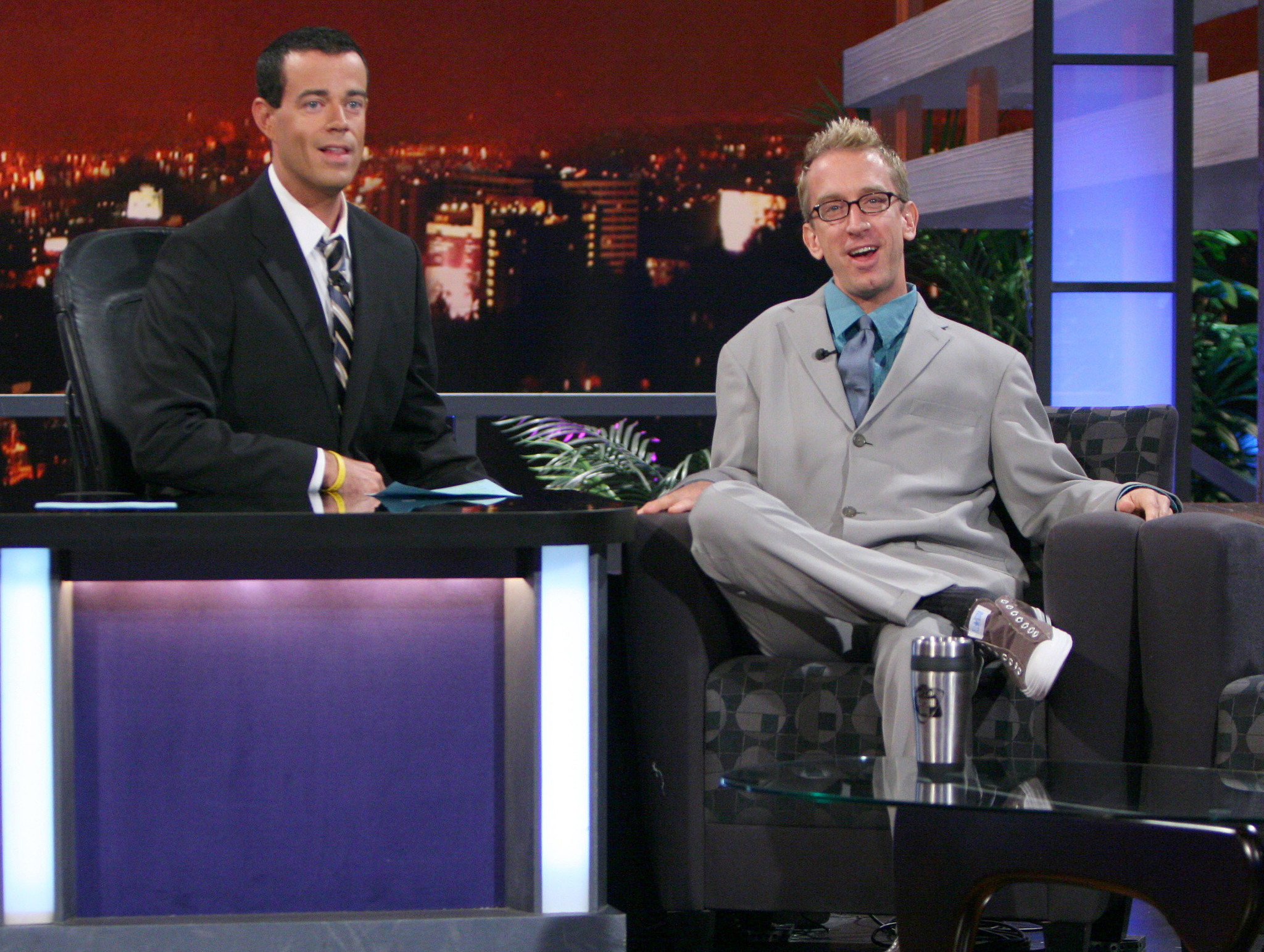 Andy dick on jimmy kimmel you