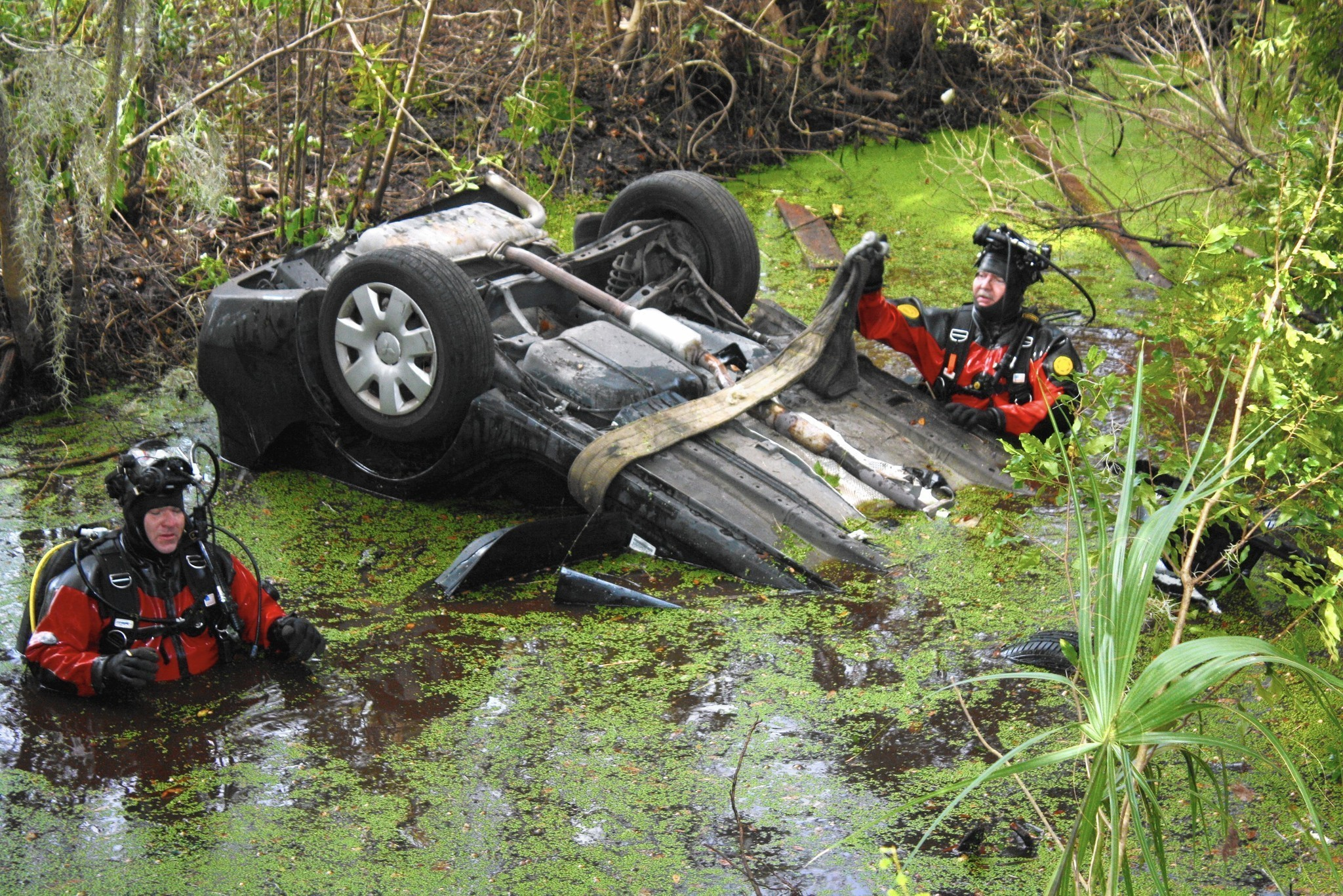 Florida Car Accident: Cars Crash Into Lakes: Florida Leads The Nation In Car